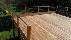 balcon et terrasse en bois