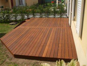 terrasse en bois traité à haute température
