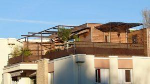 surélévation maison avec balcon