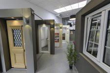 Showroom pour les portes de la marque allemande
