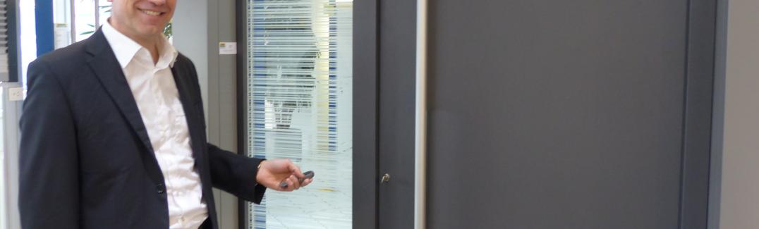 Les portes de bureau connectées pour une meilleure rentabilité