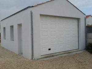 porte de garage en alu