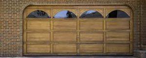 porte garage en bois