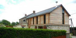 Surélévation maison en bois